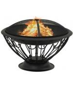 Vatra de foc cu vatrai XXL,75 cm