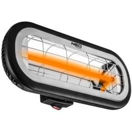 Incalzitor terasa, infrarosu, 2000 W, interior/exterior, IP65, 2 trepte putere, NEO