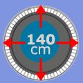 Set 140 cm