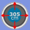 Set 305 cm